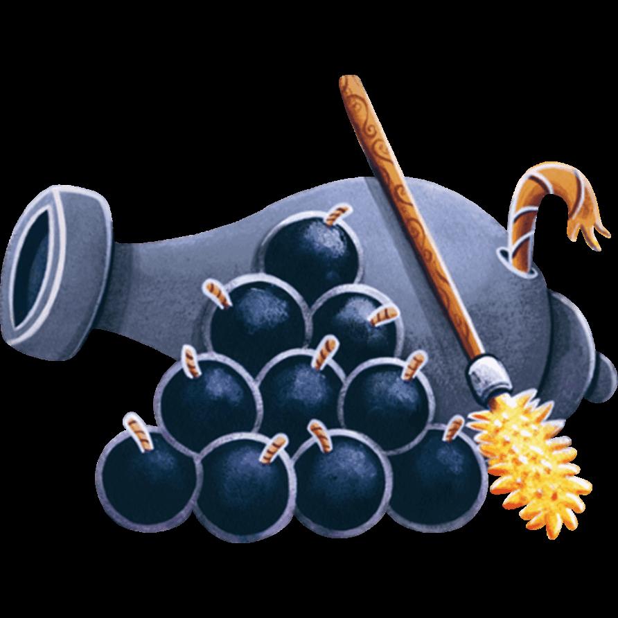 Adesivi murali cannone leostickers for Planner cameretta